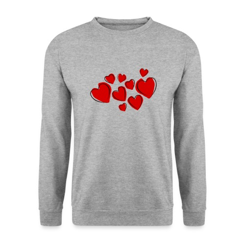 hearts herzen - Unisex Pullover