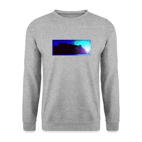 Silhouette of Edinburgh Castle - Unisex Sweatshirt