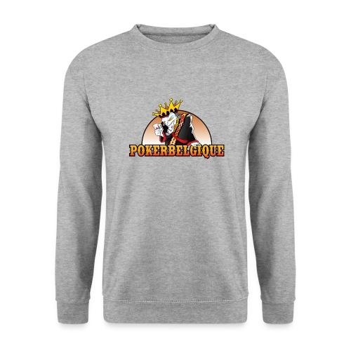 Logo Poker Belgique - Sweat-shirt Unisexe