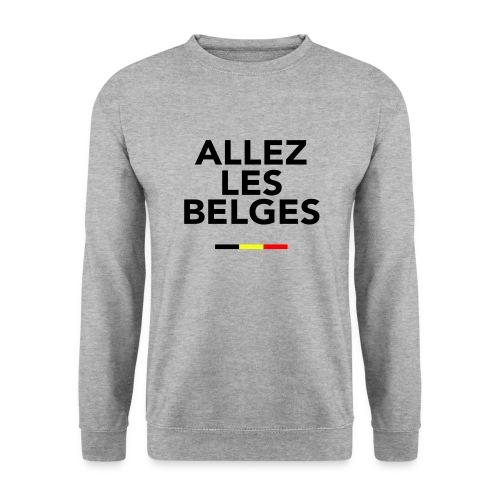 allez les Belges! - Sweat-shirt Unisexe