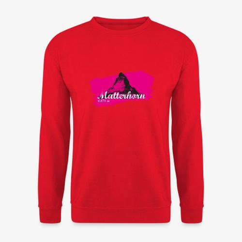 Matterhorn - Matterhorn in pink - Unisex Sweatshirt