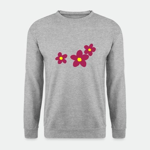 Three Flowers - Unisex Sweatshirt