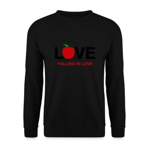Falling in Love - Black - Unisex Sweatshirt