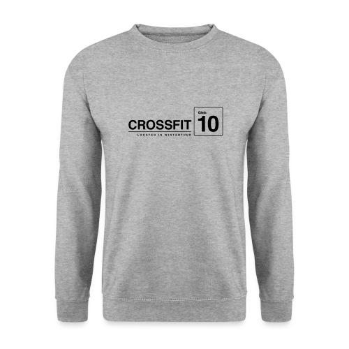 CrossFit_Gleis_10_Logo_1_Black - Unisex Pullover