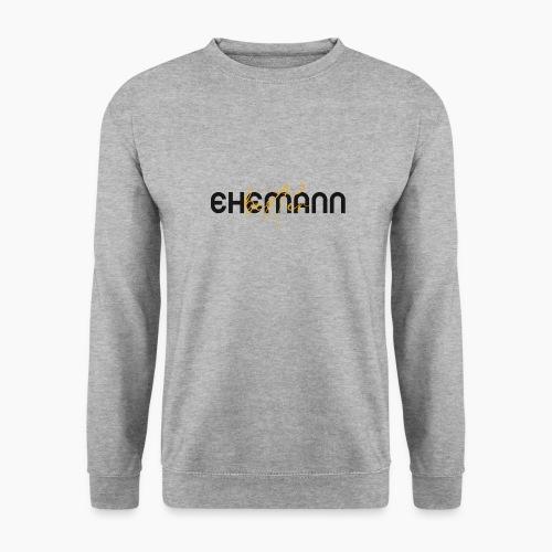 Bester Ehemann - Spruch in Schwarz/Gelb - Unisex Sweatshirt