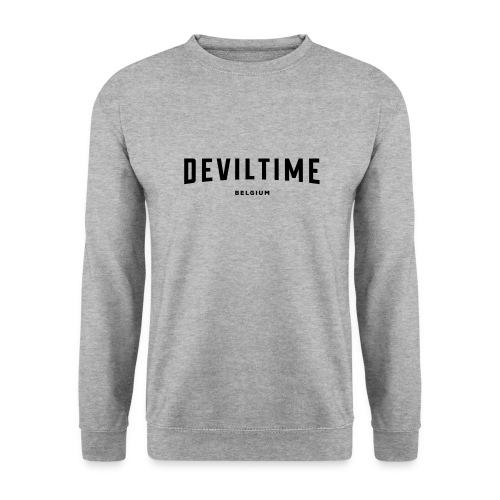 deviltime Belgium België Belgique - Sweat-shirt Unisexe