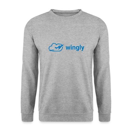 Wingly logo - Unisex Sweatshirt