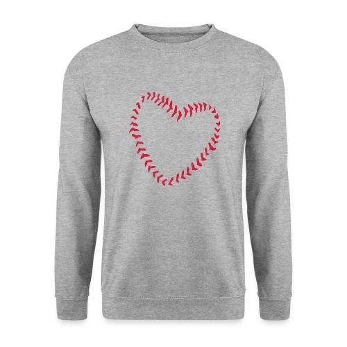 2581172 1029128891 Baseball Heart Of Seams - Unisex Sweatshirt