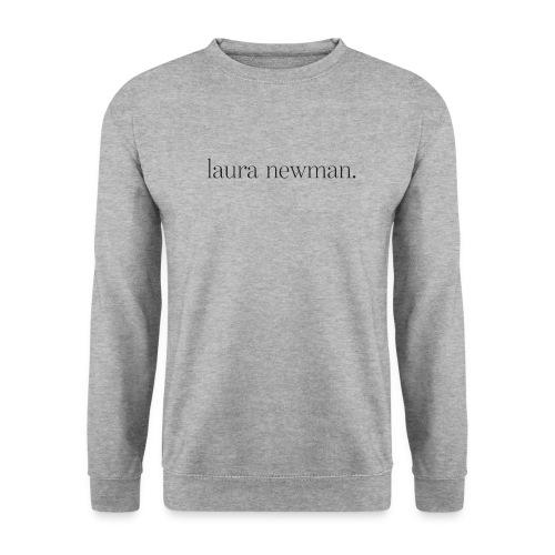 laura newman. Logo   dark - Unisex Pullover