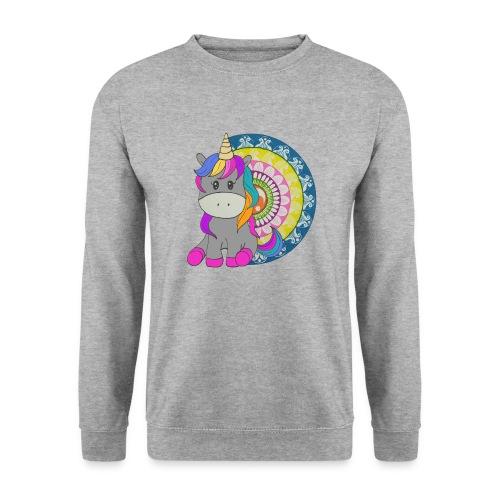 Unicorno Mandala - Felpa unisex