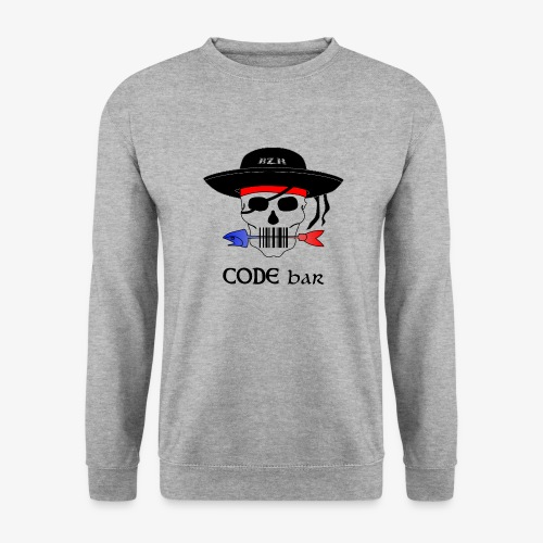 Code Bar couleur - Sweat-shirt Unisexe