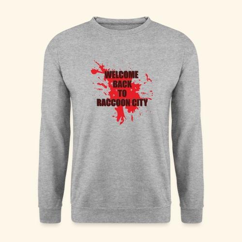 Welcome Back to Raccoon City TEXT 01 - Unisex Sweatshirt