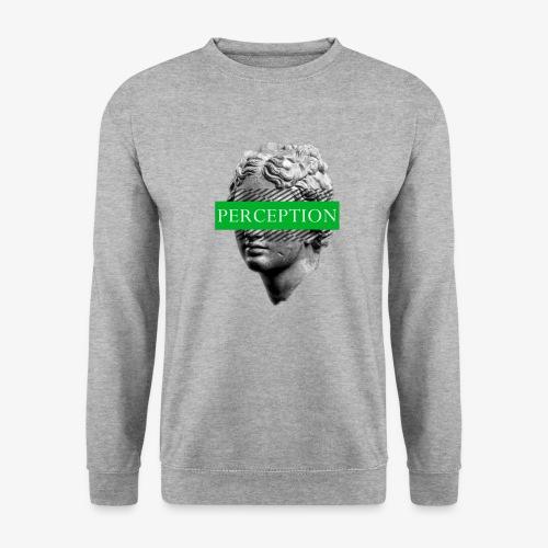 TETE GRECQ GREEN - PERCEPTION CLOTHING - Sweat-shirt Unisexe