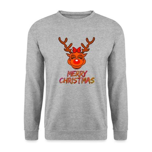Rudolph weiblich - Unisex Pullover