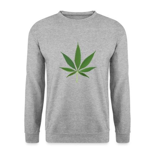 2000px-Cannabis_leaf_2 - Unisex sweater