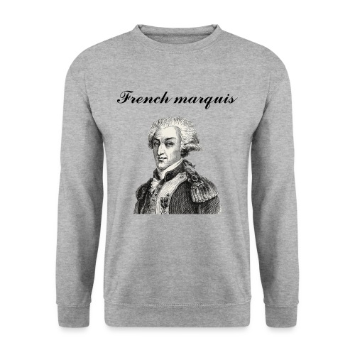 Sweat-shirt French marquis n°1 - Sweat-shirt Unisexe