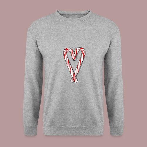 Sucre d'orge en forme de coeur - Sweat-shirt Unisexe