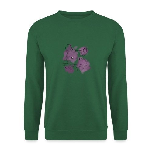 Violet splash chinchilla - Unisex svetaripaita