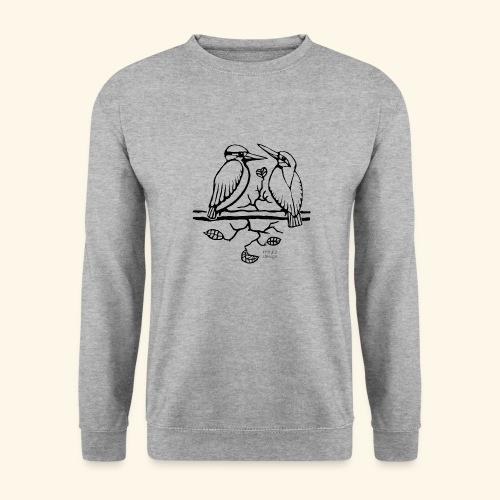 Eisvogel Liebe - Unisex Pullover