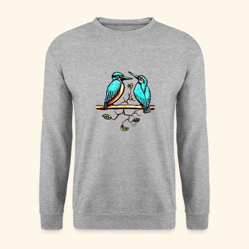 Eisvogel Paar farbe - Unisex Pullover