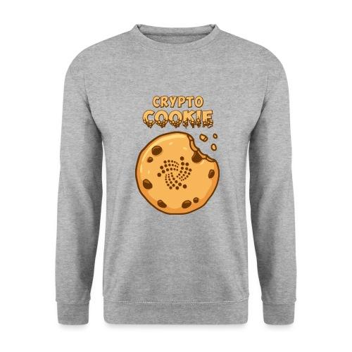 Crypto Cookie - IOTA - BTC, Bitcoin - Keks - Unisex Pullover