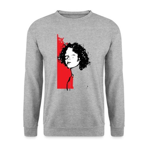 L'enfant rouge représente la terre rouge d'Afrique - Sweat-shirt Unisexe