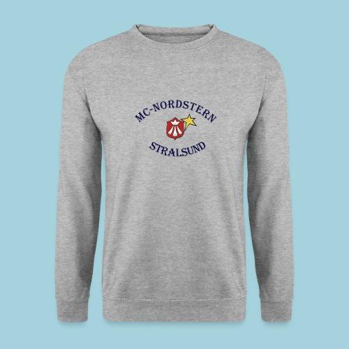 MC Nordstern Schrift gebogen - Unisex Pullover