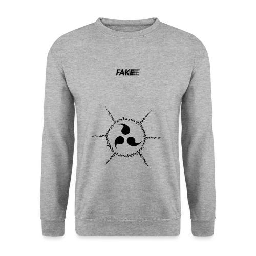 fake logo trasparent tribal - Felpa unisex