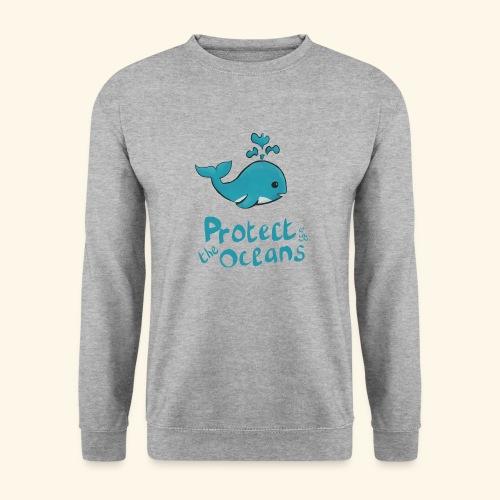 Protèges les océans - Sweat-shirt Unisexe
