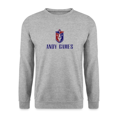 Logo AndyGames png - Unisex sweater
