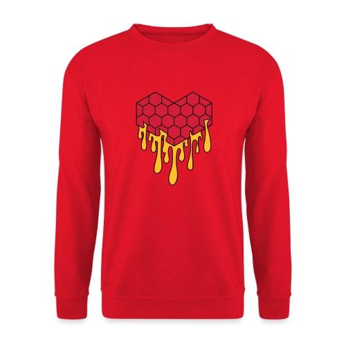 Honey heart cuore miele radeo - Felpa unisex