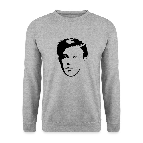 Arthur Rimbaud visage - Sweat-shirt Unisexe