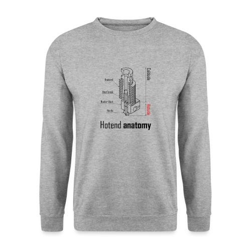 Hotend anatomy - Unisex Sweatshirt