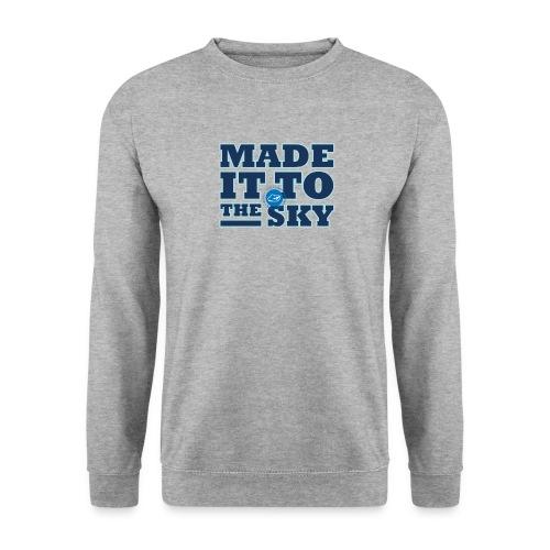 Made it to the sky (Dark blue) - Unisex Sweatshirt