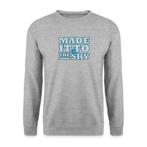 Made it to the sky (Light blue) - Unisex Sweatshirt