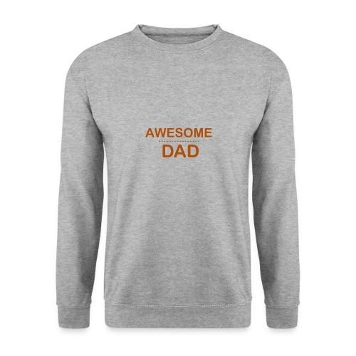 awesome dad 1 - Unisex Sweatshirt