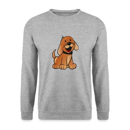 cartoon dog - Felpa unisex