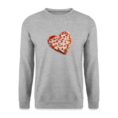 Pizza a cuore - Felpa unisex