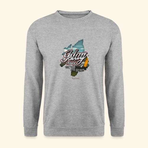 Whisky from Islay Peat of my Heart Tattoo Style - Unisex Pullover