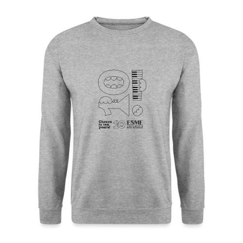 ESME Anniversary Simple Design Schwartz - Unisex Pullover