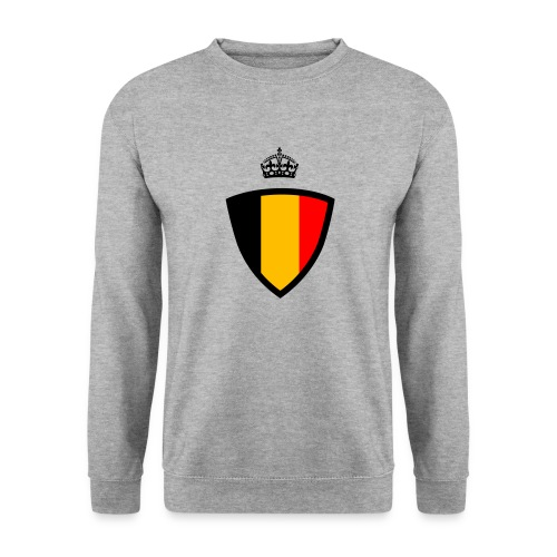 Koninkrijk belgië schild - Sweat-shirt Unisexe