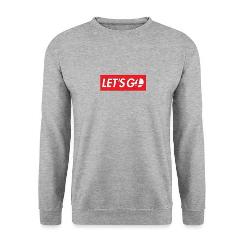 letsgo - Felpa unisex