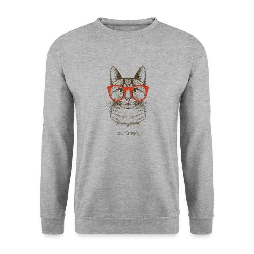 Vorschau: Cat Hipster - Unisex Pullover