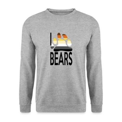 I love bears - Sweat-shirt Unisexe