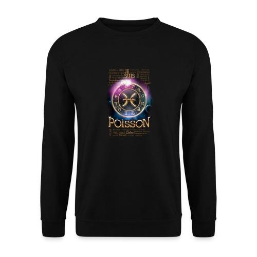 POISSONS - Sweat-shirt Unisexe