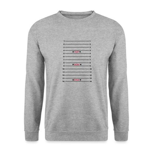 Yes Wow Diva Length Check T-Shirt - Unisex Sweatshirt