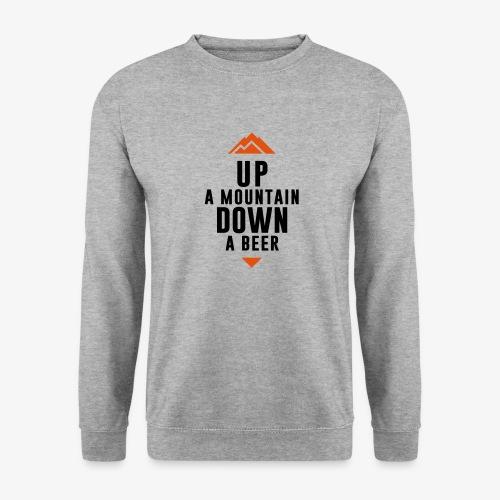 UP Mountain Down Beer - Sweat-shirt Unisexe