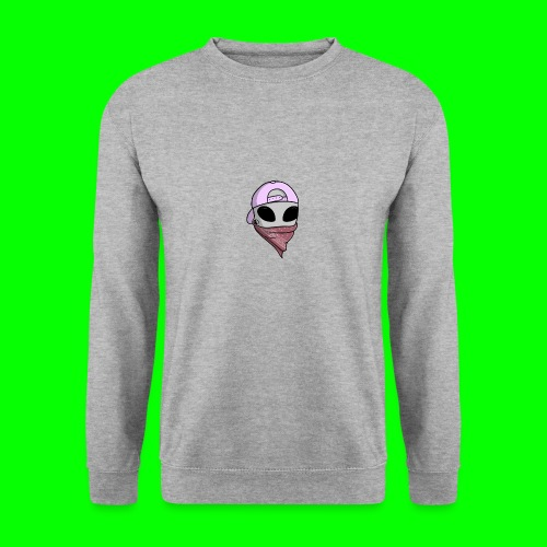 gangsta alien logo - Felpa unisex