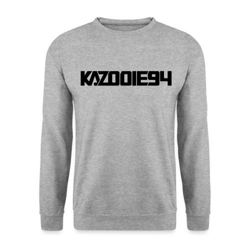 Kazooie94 text logo - Unisex Sweatshirt