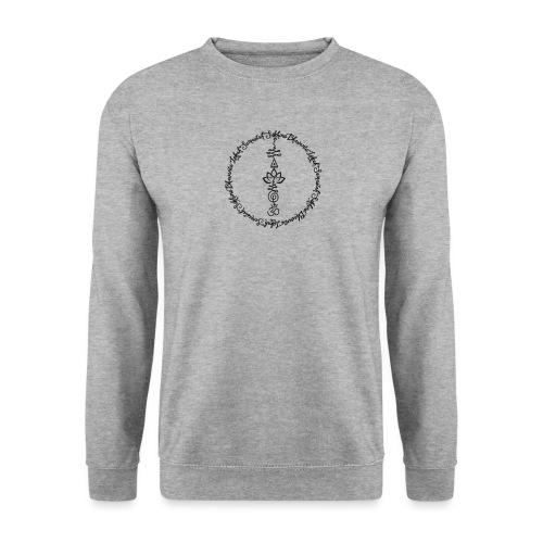 Yoga Mantra Lokah Sukhino Bhavantu Design Tshirt - Unisex Pullover